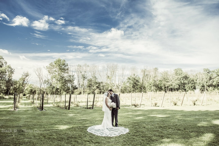 Akron Wedding Photo at Watersedge Vineyard