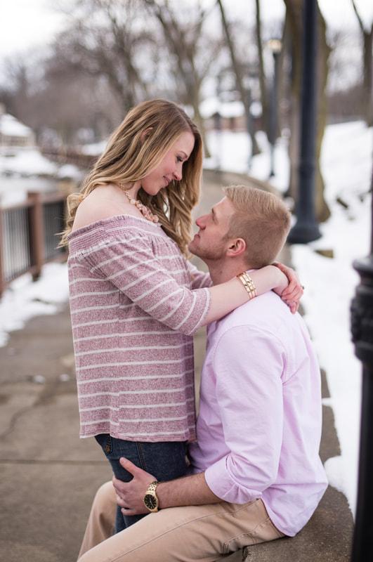 Photo of couple at Coe Lake
