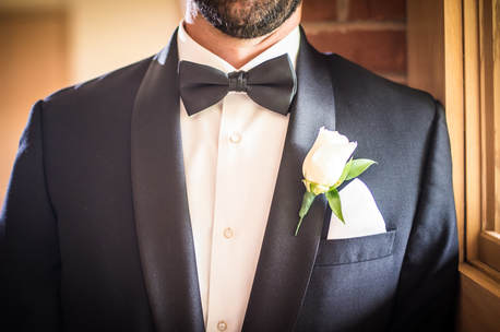 Akron Wedding Photo of a groom's tuxedo.